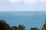 Вид на море из санатория
